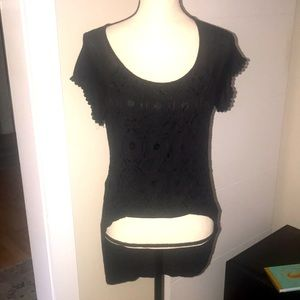 Like new high low Lacey blouse